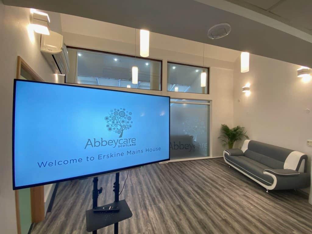 Welcome-screen-Abbeycare-Scotland-Erskine